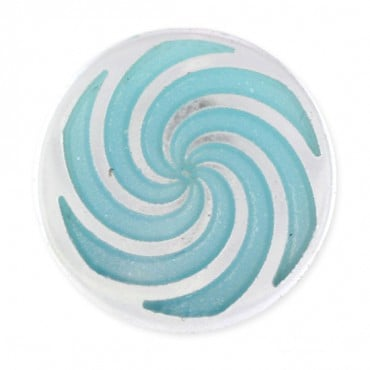 PINWHEEL DESIGN FASHION BUTTON WITH SHANK