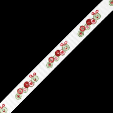 "5/8"" (16mm) Caterpillar Print Ribbon"