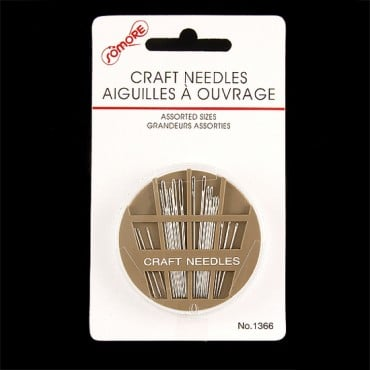 CRAFT NEEDLES ASSORTED SIZE - NICKEL