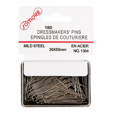 STRAIGHT PINS - NICKEL