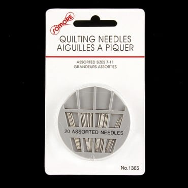 QUILTING HAND SEWING NEEDLES - NICKEL