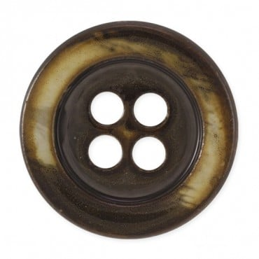 BRUSHED FASHION BUTTON 4-HOLES
