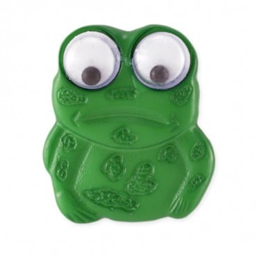 FROG BUTTON - GREEN