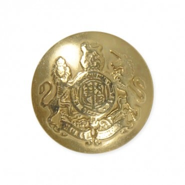 METAL CREST BUTTON