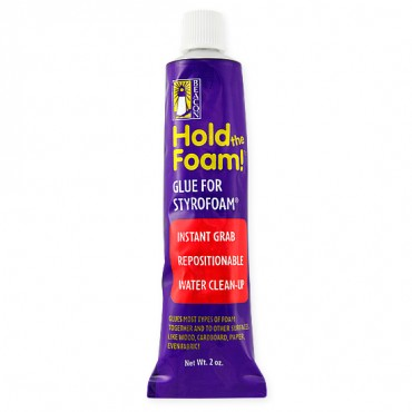 HOLD THE FOAM GLUE 2oz. - GLUE