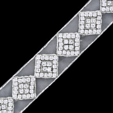 "1 1/2""(38mm) Rhinestone Trim"