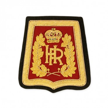"3"" ""HR"" BULLION CREST - RED/GOLD MULTI"