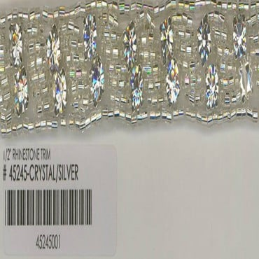 "1/2""(13mm) Rhinestone Trim"
