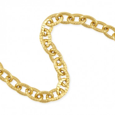 8MM GROOVED METAL CHAIN