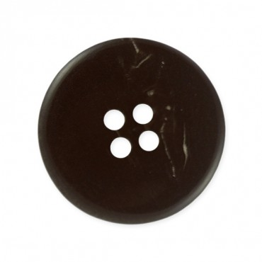 4-HOLE PLAIN HORN BUTTON