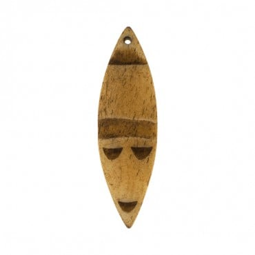 TRIBAL CARVED HORN PENDANT