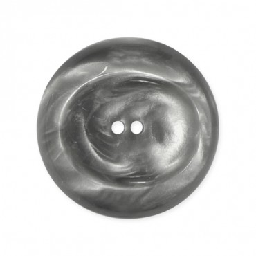 2-HOLE FASHIOIN BUTTON W/RIM