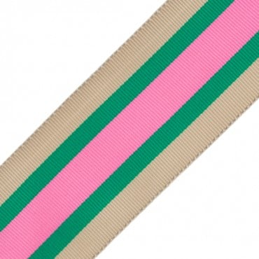 "1 1/2"" (38mm) Striped Grosgrain"