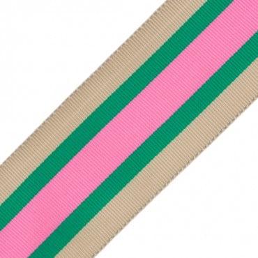 "1 1/2"" (38mm) Striped Grosgrain"