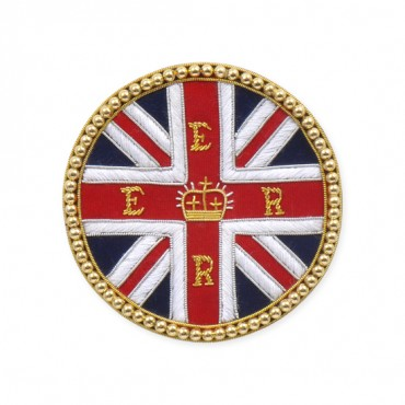 "3 1/2"" BRITISH BULLION APPLIQUE"