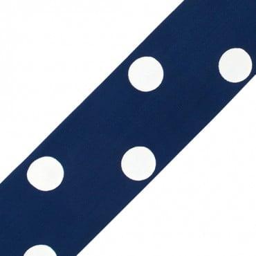 """2""""(50mm) Polka Dots Tafetta"""