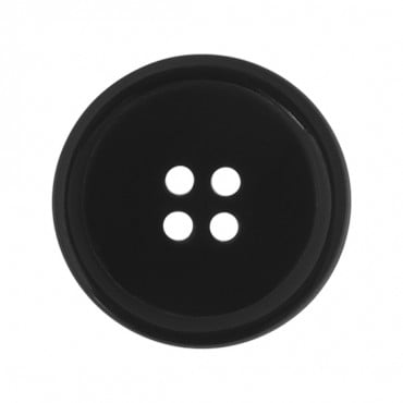 FOUR HOLE HORN BUTTON