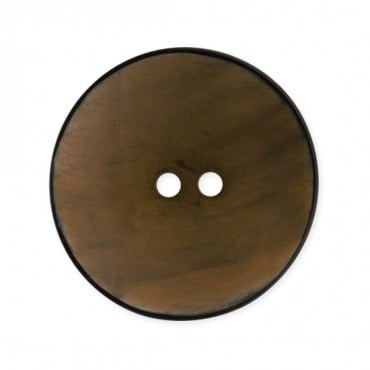 2 HOLE HORN BUTTON WITH RIM