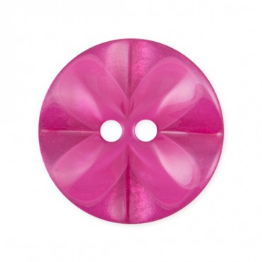 TWO-HOLE FLOWER BUTTON