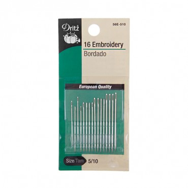 EMBROIDERY NEEDLES SIZE5/10-All-NICKEL