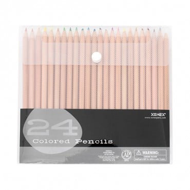 XONEX SNAP CASE ART SUPPLIES, COLORED PENCILS-All-MULTI