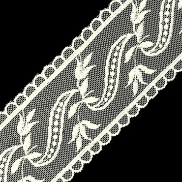 "2 3/4"" EMBROIDERED LACE"