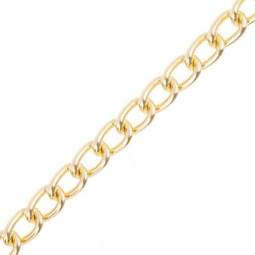 12mm curb metal chain