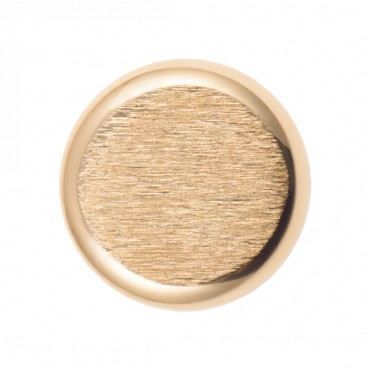 METALLIC SHADE BUTTON W/SHANK