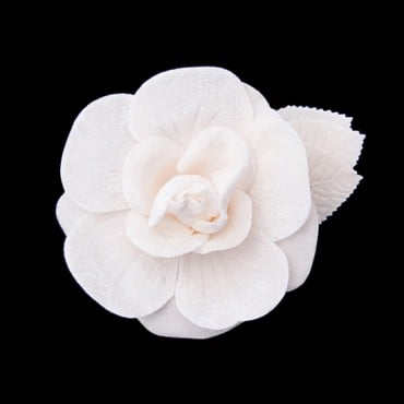 VELVET BLOSSOM FLOWER-All-IVORY