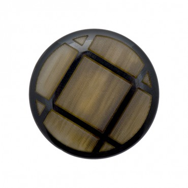 TIC TAC TOE BUTTON WITH SHANK