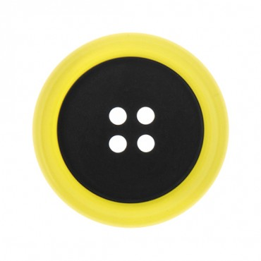 FOUR- HOLE BRIGHT RIM BUTTON