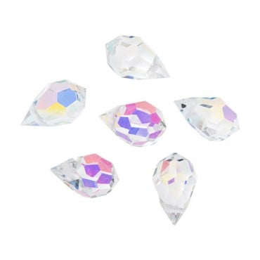 10MM X 6MM SWAROVSKI AB CRYSTAL DROPS