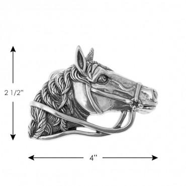 "2 1/2"" X 4"" Horse Buckle"
