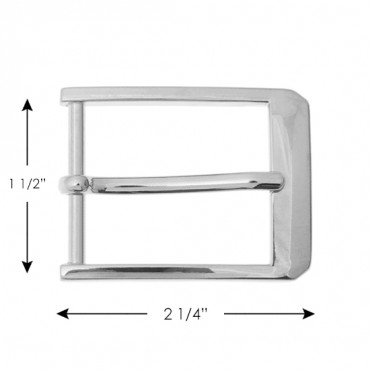MEN'S RECTANGLE BUCKLE