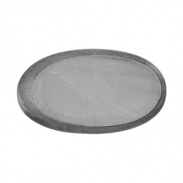 LONG OVAL GLASS BUTTON