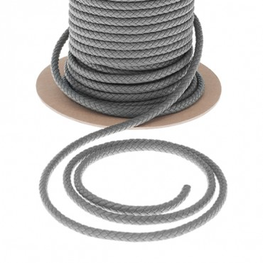 7MM BRAIDED FAUX LEATHER CORD
