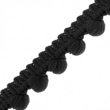 15mm Mini Pompom Loop Fringe