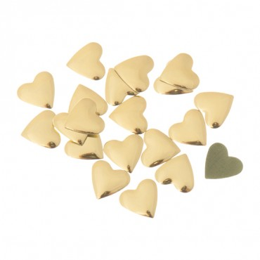 9MM HOTFIX HEART SHAPED STUDS