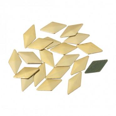 4MM X 8MM HOTFIX DIAMOND NAILHEAD-8mm x 4mm-GOLD