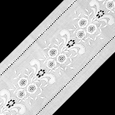 "2 3/4"" FLORAL EYELET LACE"