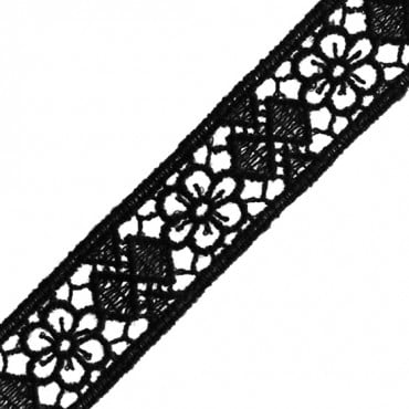 18MM FLORAL CLUNY LACE