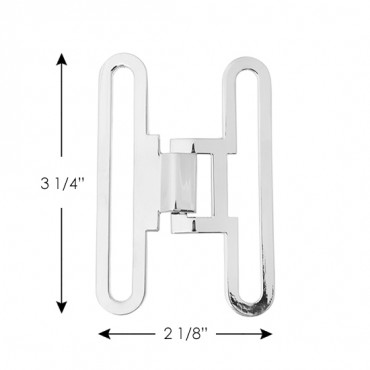 Narrow Interlocking Buckle