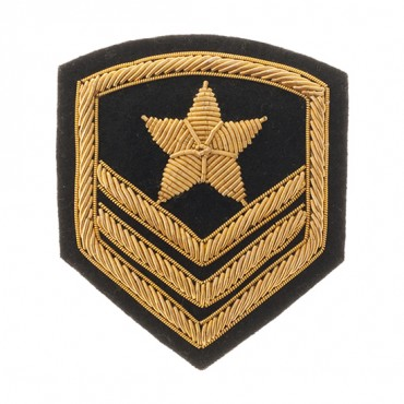 "3"" Military Star Crest"