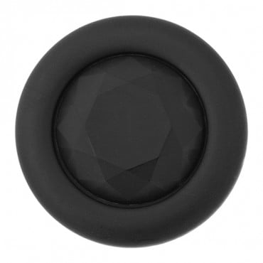 FACET CENTER SHANK BUTTON WITH RIM