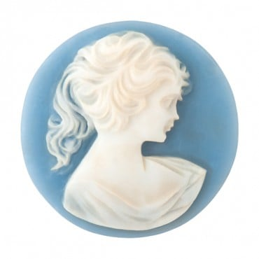 30 MM ROUND PROFILE CAMEO
