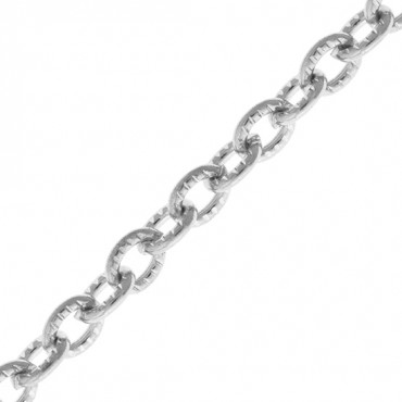 5MM STEEL CABLE TEXTURED CHAIN