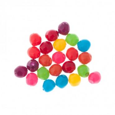 7mm Czech Glass Oval Nugget Beads