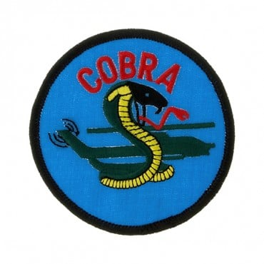 ROUND COBRA PATCH