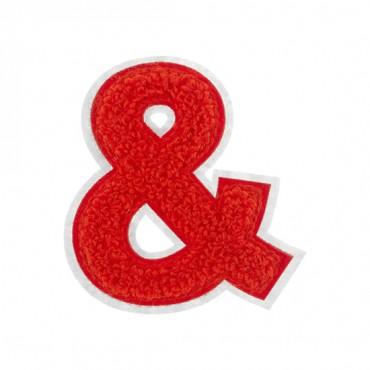 "2 1/2"" Chenille Heat Seal Ampersand"