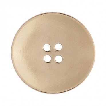 Cup-Shaped Four Hole Metallic Button
